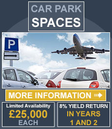 300 Car Park Spaces | 8% YIELD RETURN IN YEARS 1 AND 2