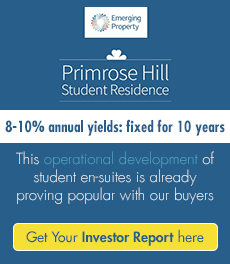 New 8-10% Net Fixed Immediate Income  UK Student Property