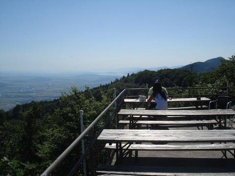 Terrasse auf dem Weissenstein
