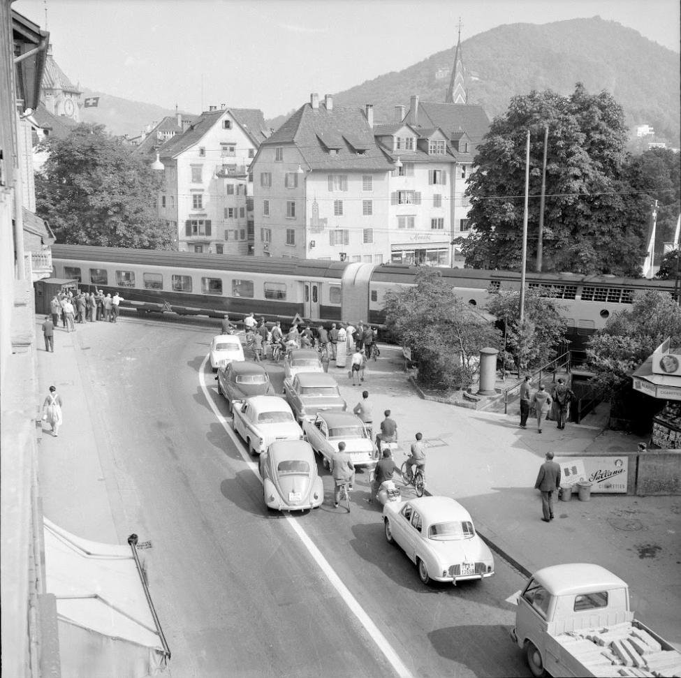 Schulhausplatz 1960