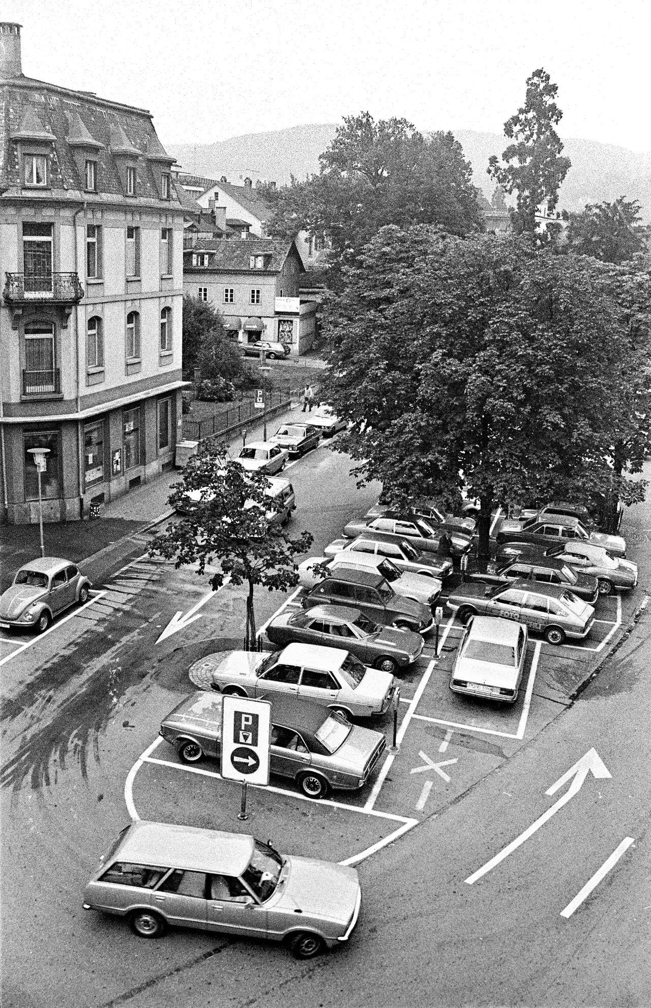 Theaterplatz um 1978, © Archiv – Fischli Fotografie, Baden/Wettingen