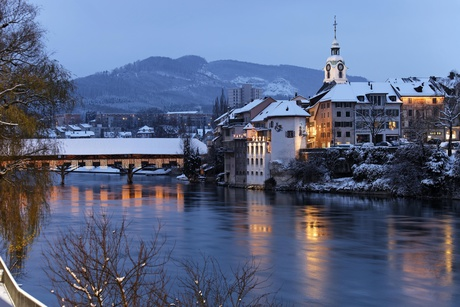 Winter in Olten