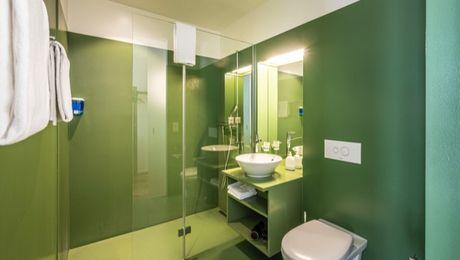 Badezimmer Hotel Oltnerhof