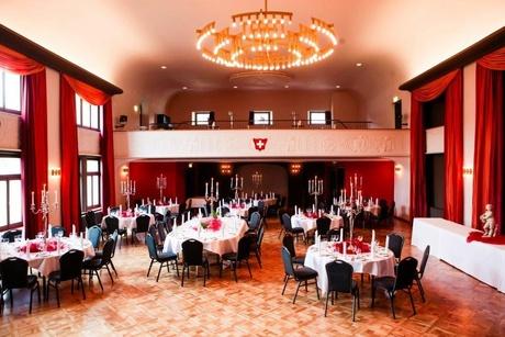 Bankettbestuhlung Casinosaal
