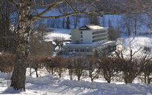 Bad Ramsach Quellhotel im Winter