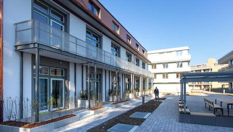 Früher Fabrikhalle, heute moderne Business Apartments