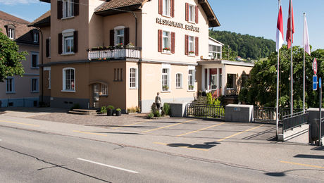 Aussenansicht Restaurant Brücke
