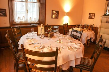 Einblick in den Speisesaal