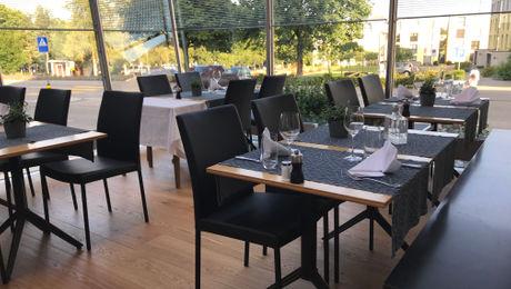 LUCE - Das aufgestellte Glashaus-Restaurant