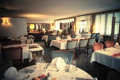 Grill-Room im Hotel Krone