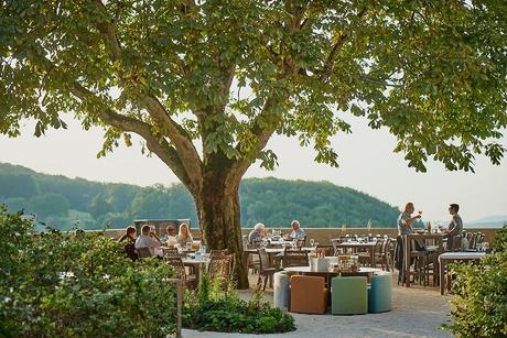 Garten im Bad Ramsach Quellhotel