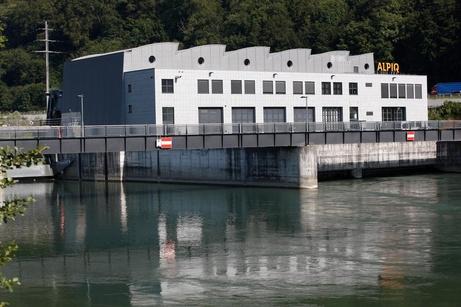 Wasserkraftwerk Ruppoldingen