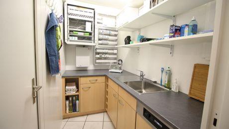 Küche Vereinslokal GFVO