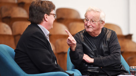 Eröffnung neue LiteraThek Geschichten mit Peter Bichsel 2019