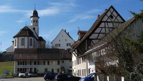 Frick mit Pfarrkirche