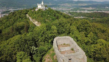 Ruine Alt-Wartburg mit Sälischlössli