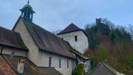Vorbourg, Wallfahrtskapelle bei Delémont