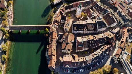 Historische Altstadt im Sommer