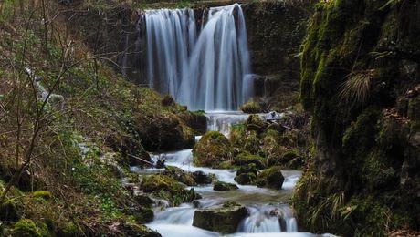Einige Wasserfälle