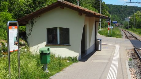 Station Trimbach, Start Bahnlehrpfad