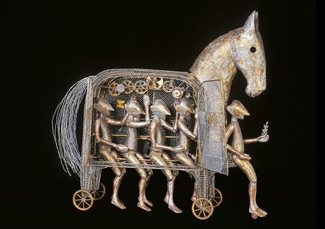 Trojanisches Pferd, Paul Guggelmann Museum