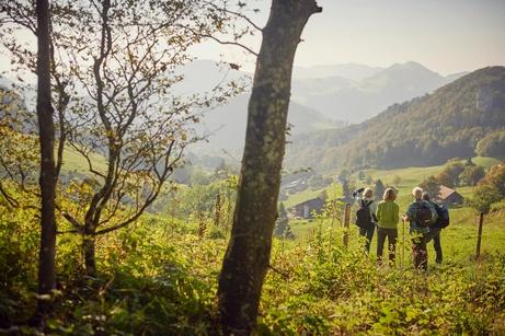 Aussicht im Naturpark Thal © Christian Aeberhard