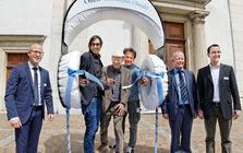 Eröffnung des Schweizer Schriftstellerweges im Jahr 2016