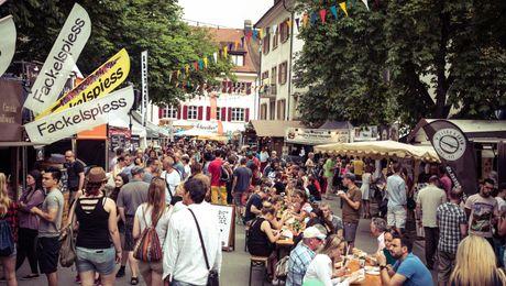 Impression vergangenes Streetfood Festival