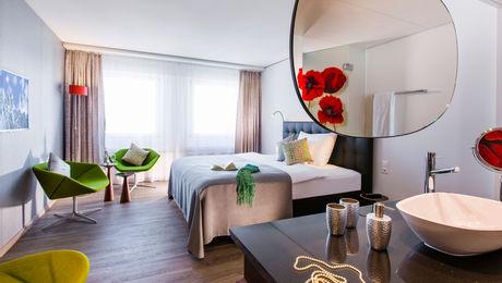 Zimmer im Hotel Arte in Olten