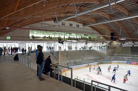 Im Eisstadion Kleinholz