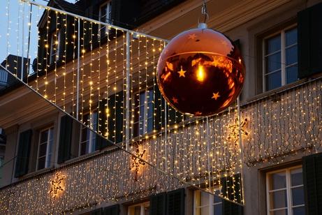 Adventsbeleuchtung in der Altstadt
