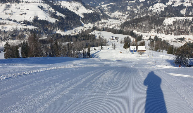 Steg Ski Area in the Töss Valley