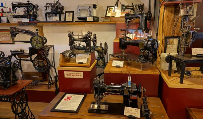 Sewing Machine Museum at the Pilgersteg