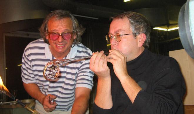 Glassblower René Burri