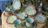 Pinselstrich Keramik