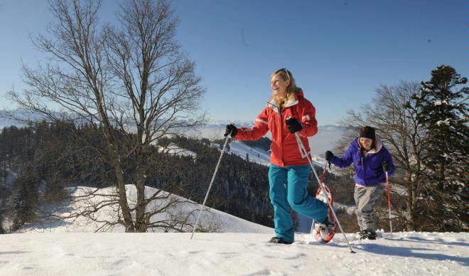 Atzmännig snowshoe tour