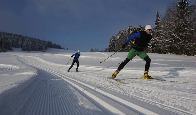 Gibswil panoramic cross-country ski trail