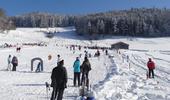 Steig Ski Area in Bäretswil