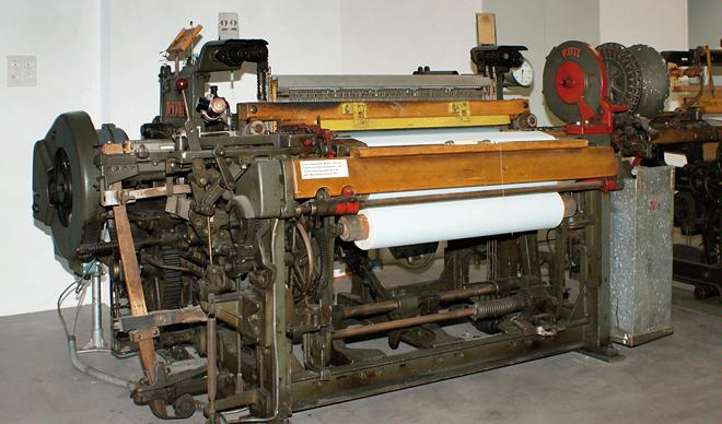 Industrial Culture Neuthal, Weaving Machine Collection