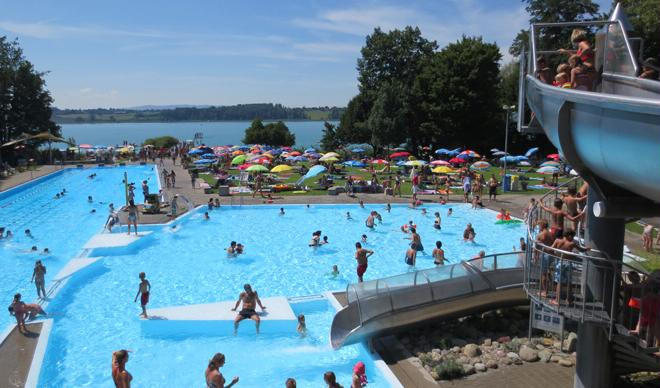 Pfäffikon - Public Bath at the Lake
