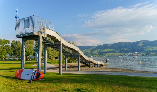 Rapperswil Jona – Stampf Public Swimming Area
