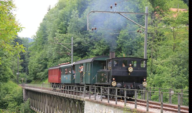Steam Train Association Zurich Oberland