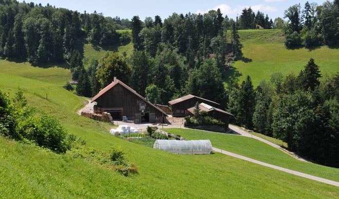 Bauernhof mit Hofladen
