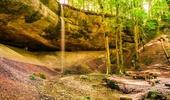 Gubel und Höhlen