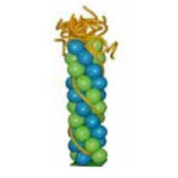 Dekorationsställ ballonger ca 1,8meter