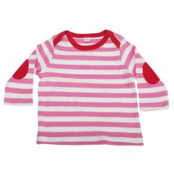 Baby randig långärmad t-shirt
