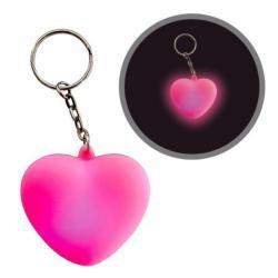 Nyckelringslampa Hjärta