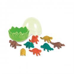 Suddgummi dinosaurie-set