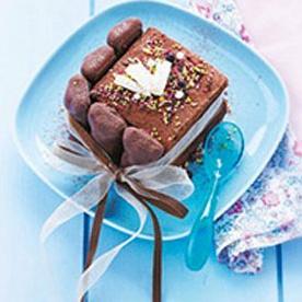 Moelleux au chocolat aux oursons guimauve