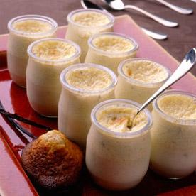 Œufs au lait maison à la vanille
